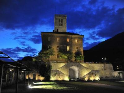 VALLE D'AOSTA-Castello Sarre notturna (foto Assessorato Cultura)-91