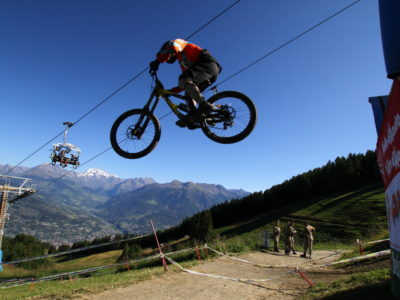 VALLE D'AOSTA-Downhill Pila (foto Pila Black Arrows)