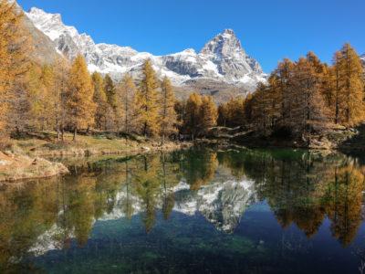 VALLE D'AOSTA-Lago Blu e Cervino autunno (foto Enrico Romanzi)-3130