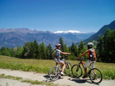 VALLE D'AOSTA-MTB Pila (foto Fabrizio Charruaz archivio Bike Club VdA)