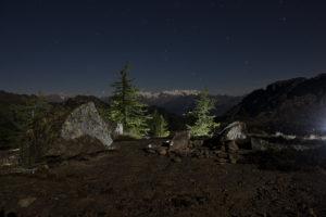 VALLE D'AOSTA-Parco Naturale Mont Avic notturna (foto Pietro Celesia)