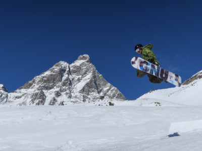 VALLE D'AOSTA-Snowboard Indian Park Breuil-Cervinia (foto Enrico Romanzi)-0668